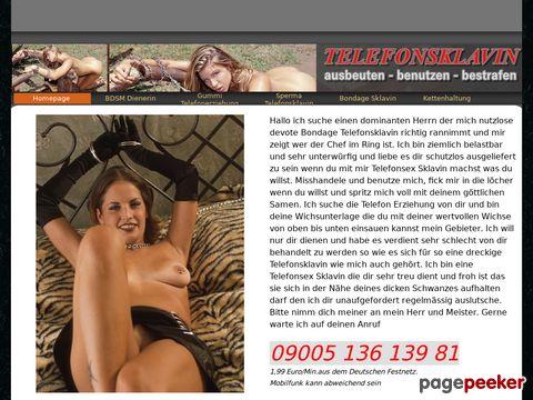 Details : Telefonsklavin sucht Telefon Erziehung