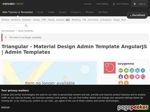 http://themeforest.net/item/triangular-material-design-admin-template-angularjs/11711437?ref=AaronSmith28 website snapshot