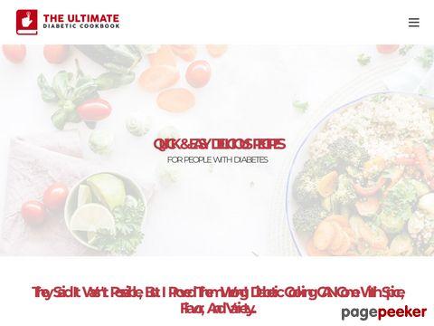 UltimateDiabeticCookbook.com Coupons