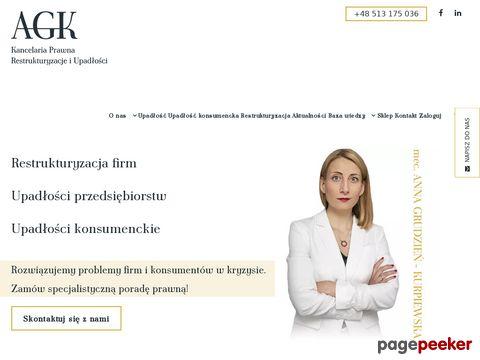 Kancelaria prawa upadłościowego Warszawa