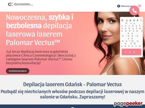Laserowa depilacja laserem Vectus - Gdańsk