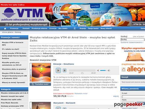 Muzyka relaksacyjna bez opłat VTM