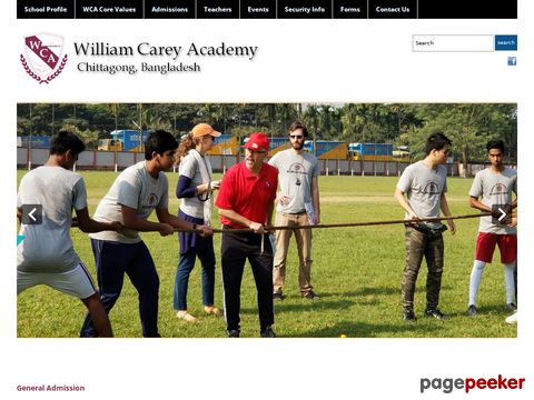 William Carey Academy, Chittagong