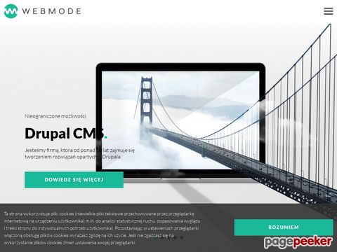 Webmode – strony www w Drupal