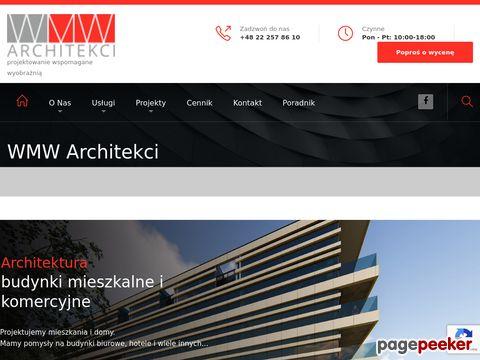 WMW ARCHITEKCI projekty budynków handlowych