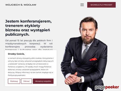 Wojciech S. Wocław - prowadzenie imprez