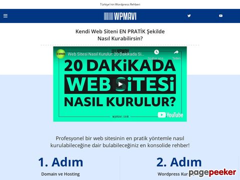 Türkiye Wordpress Rehberi - Profesyonel Wordpress Blogu | WPMAVI