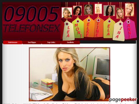 mehr Information : 09005 Telefonsex - Schmutzige Fantasien am Sextelefon