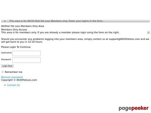 8020fatloss.com