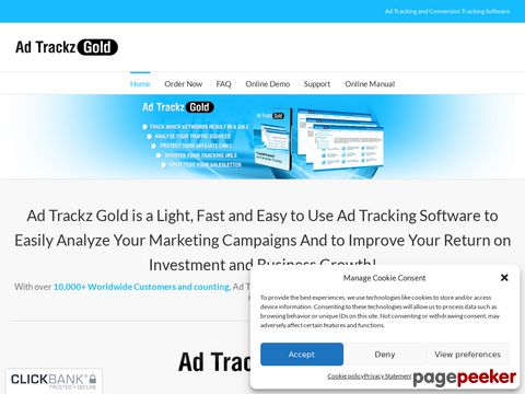 Adtrackzgold.com