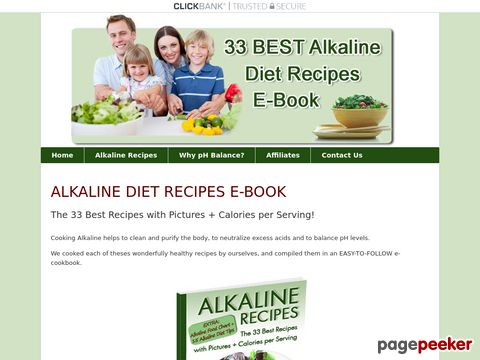 Alkaline-recipes.com