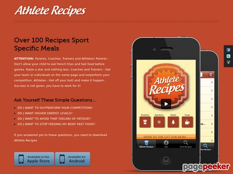 Athleterecipes.com