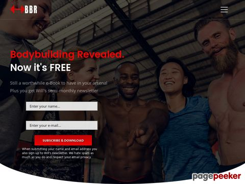 Bodybuildingrevealed.com