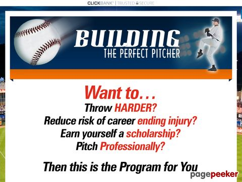 Buildingtheperfectpitcher.com