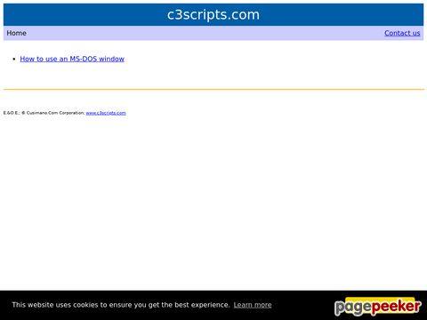C3scripts.com