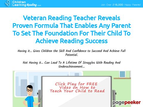 Childrenlearningreading.com