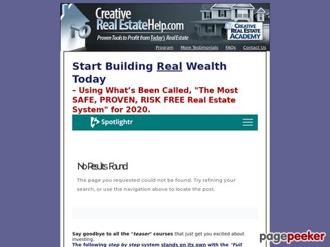 Creativerealestatehelp.com