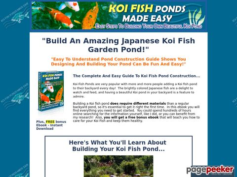 Easy-koi-ponds.com