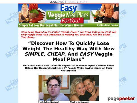 Easyveggiemealplans.com
