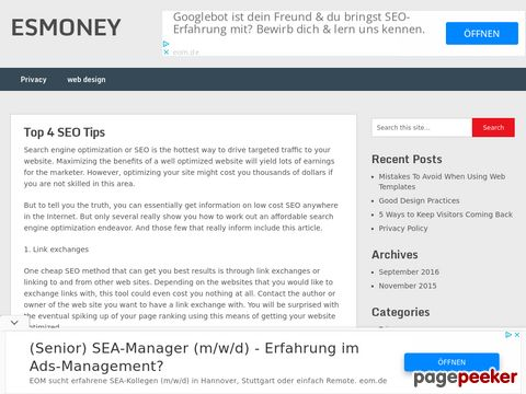 Esmoney.co.in
