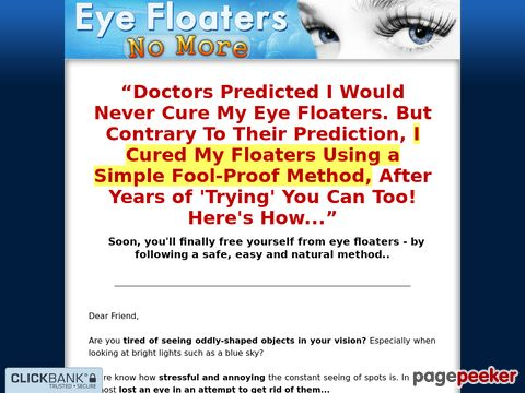 Eyefloatersnomore.com