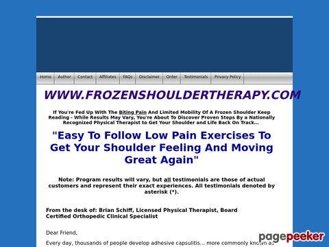 Frozenshouldertherapy.com