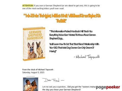 Germanshepherdhandbook.com