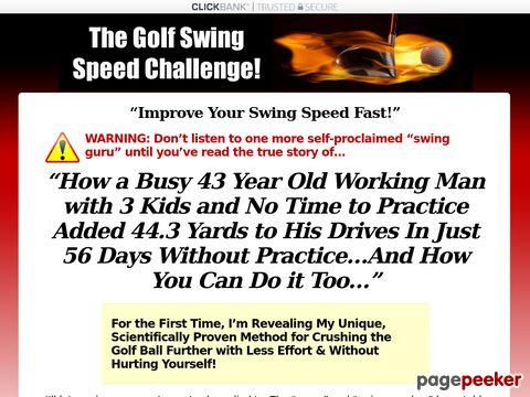 Golfswingspeedchallenge.com