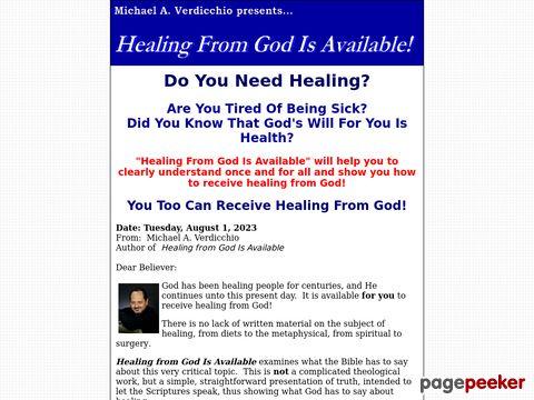 Healingfromgodisavailable.com