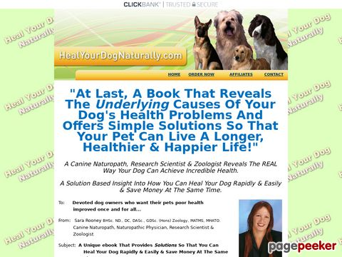 Healyourdognaturally.com