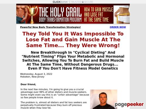 Holygrailbodytransformation.com