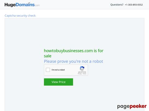 Howtobuybusinesses.com