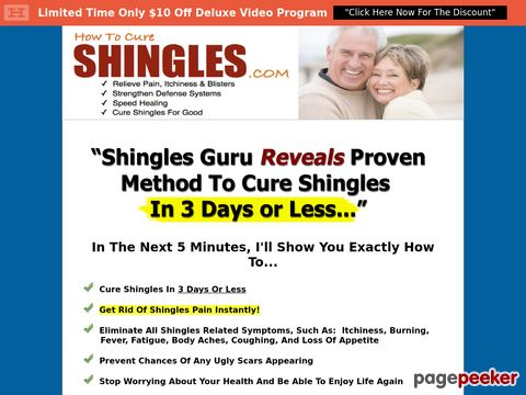 Howtocureshingles.com