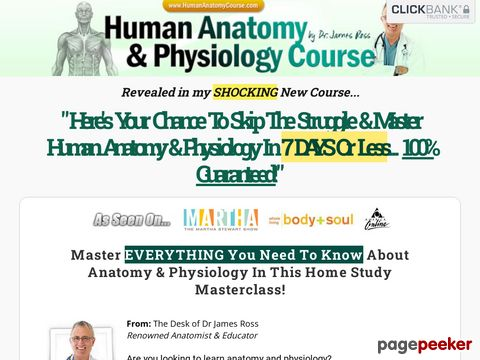 Humananatomycourse.com