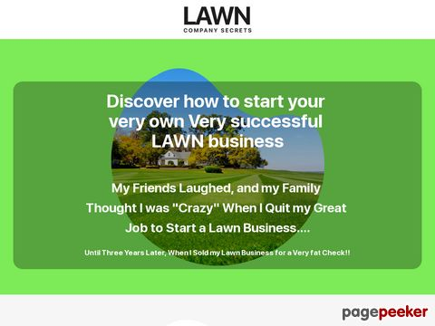 Lawncompanysecrets.com