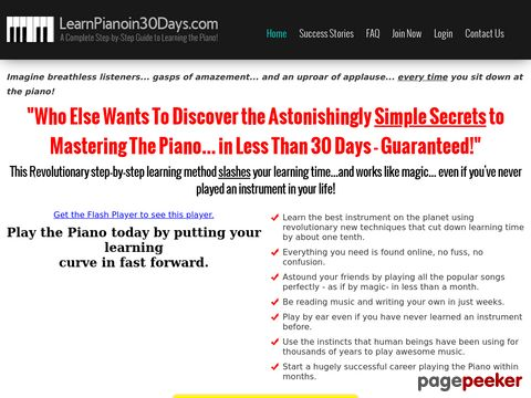 Learnpianoin30days.com