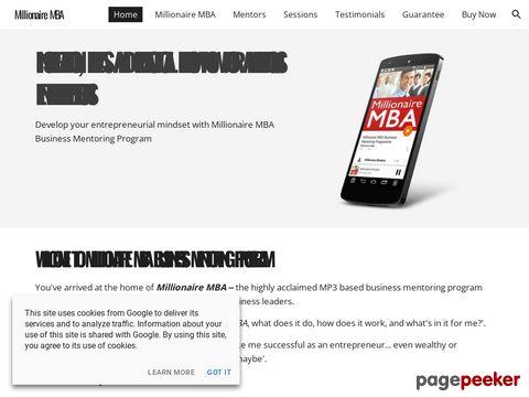 Millionairemba.com