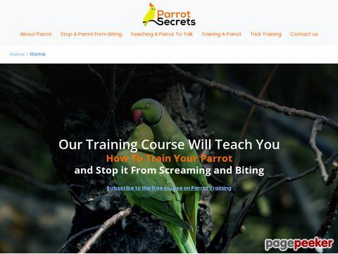 Parrotsecrets.com