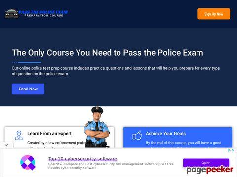 Passthepoliceexam.com