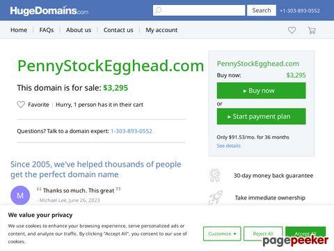 Pennystockegghead.com