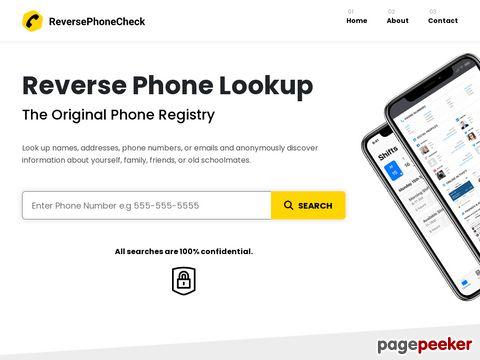 Reversephonecheck.com