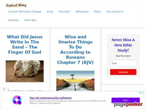 Scripturalthinking.com
