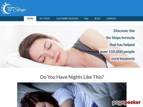 Sixstepstosleep.com