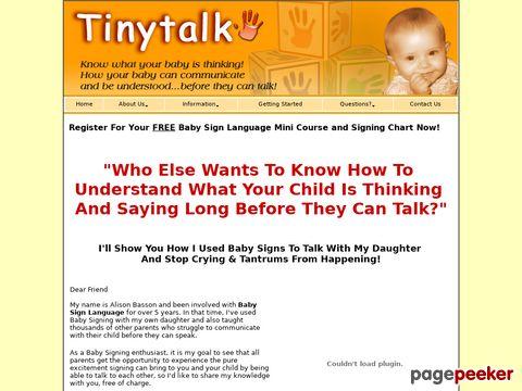 Tinytalk.com.au