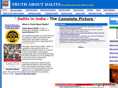 Truthaboutdalits.com