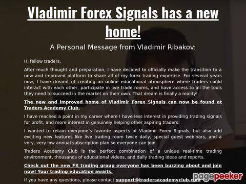 Vladimirforexsignals.com