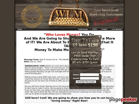 Wholovesmoney.com