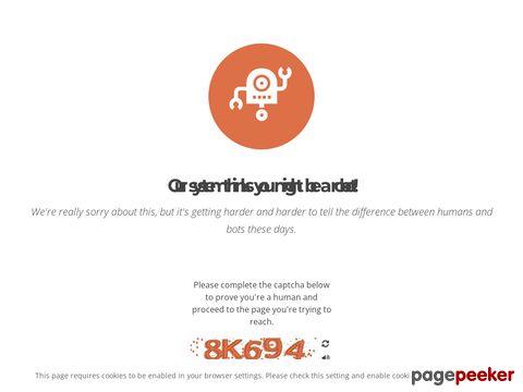 Screeshot of Atlanta limousine service provider