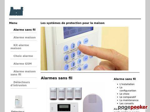 Thumbnail de http://www.alarmes-sans-fil.eu