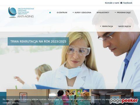 Medycyna przeciwstarzeniowa - antiaging.edu.pl